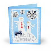 Let it Snow Snowmen Card #2