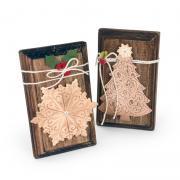 Christmas Snowflake & Christmas Tree Plaques