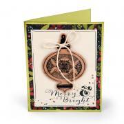 Merry & Bright Ornament Christmas Card #2