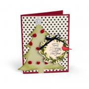 Wishing You a Merry Christmas Tree & Wreath Card