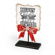 Merry Christmas & Happy New Year Sign
