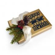 Merry Christmas & Happy New Year Gift Topper