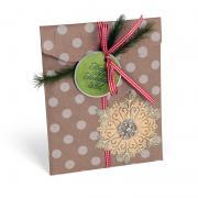 Happy Holidays Snowflake Bag