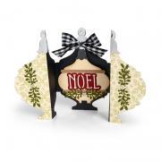 Noel Ornament Fold-a-Long Card #2