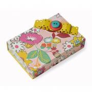 Button Bow Gift Box