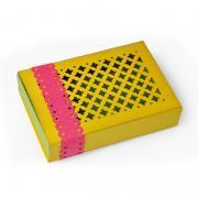 Diamond Cut Lattice Top Gift Box