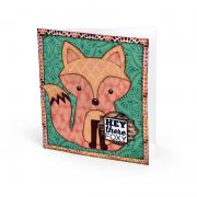 Hey There Foxy Card #2