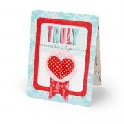 Truly in Love with You Heart Card
