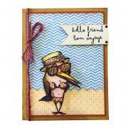 Hello Friend, Bon Voyage Card