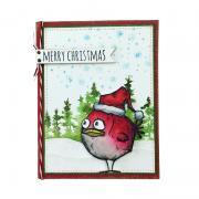Merry Christmas Bird Card