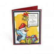 Holiday Hugs Bird Card