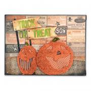 Trick or Treat Pumpkins Canvas
