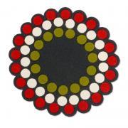 Scallop Circle Candle Mat