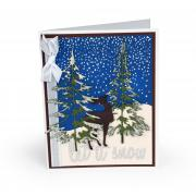 Let It Snow Forest Card