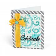 Celebrate Swirls Card