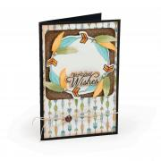 Birthday Wishes Feather Card
