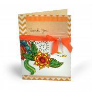 Boho Thank You Card