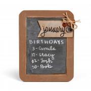 Monthly Birthdays Reminder