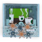 Just Because Snowflake Card