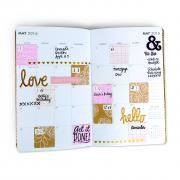 Love. Hello. Planner Page