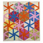 Twisting Triangles Wall Hanging