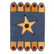Wool Star Table Mat