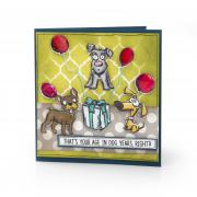 Age in Dog Years Card