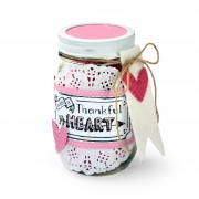 With a Thankful Heart Jar