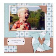 You Have My Heart Scrapbook Page