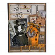 Toil & Trouble Scrapbook Page