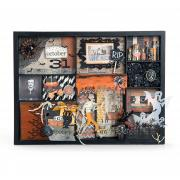 Spooky Halloween Collage Box