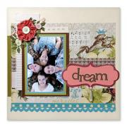 Dream Scrapbook Page #2