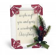 Christmas Greetings Frame