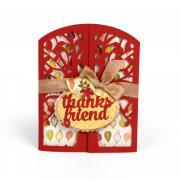 Thanks Friend Tree Gatefold Card