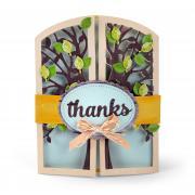 Thanks Tree Gatefold Card