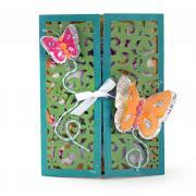 Butterfly Garden Gatefold Card
