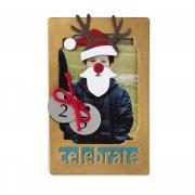 Celebrate Christmas Frame