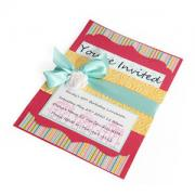 Embossed You're Invited Card