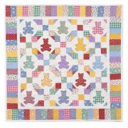 Tumbling Teddy Bears Quilt