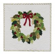 Holly Wreath Wall Hanging