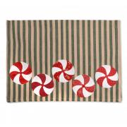 Peppermint Candy Tea Towel