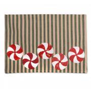 Peppermint Candy Tea Towel