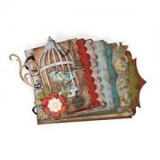 Caged Bird Mini Book