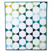 Large Hexagons Quilt