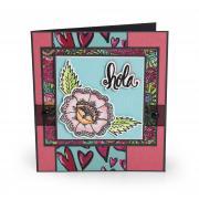 Hola Flower Card