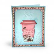 Thanks a Latte Shaker Card