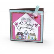 Warm Holiday Greetings Card