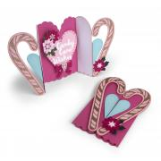 Candy Cane Wishes Fold-a-Long Card