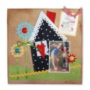 Sweet Simple Life Scrapbook Page