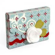 Scallop Flap & Flowers Box #3